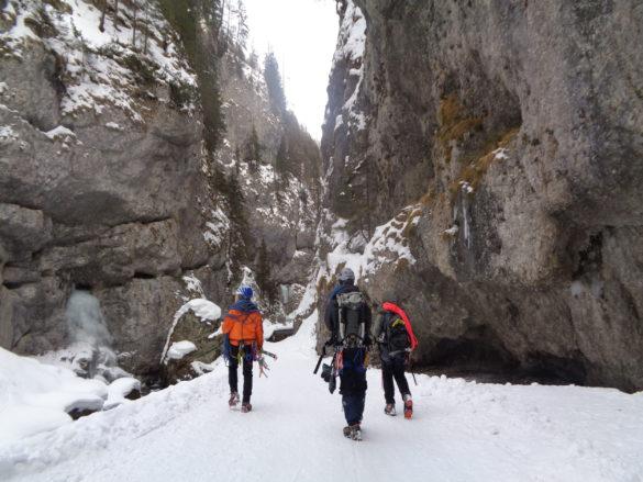 Ledni tabor Sottoguda