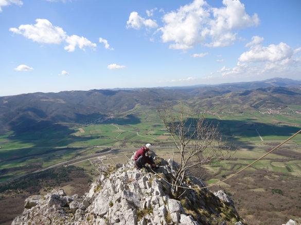 Tečajci v vipavski dolini: Podraška Tura (Južni raz)
