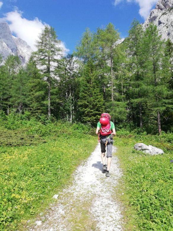 Koriščenje starega dopusta v Logarski dolini