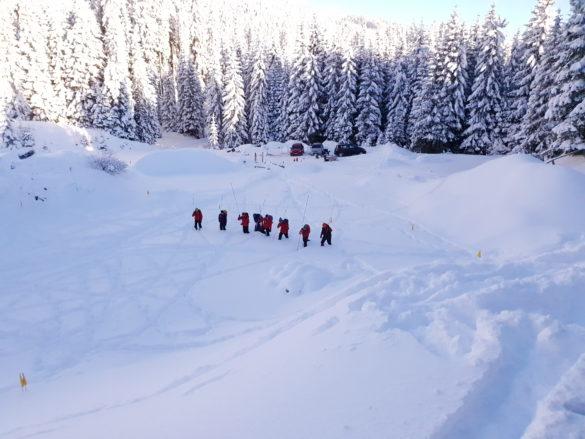 Dnevi varstva pred snežnimi plazovi na Pokljuki