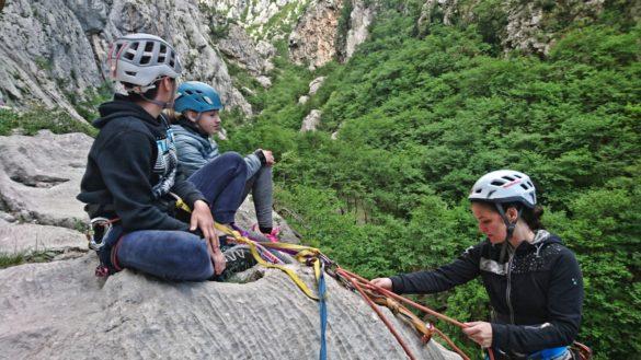 Zaključek alpinistične šole 2018/19
